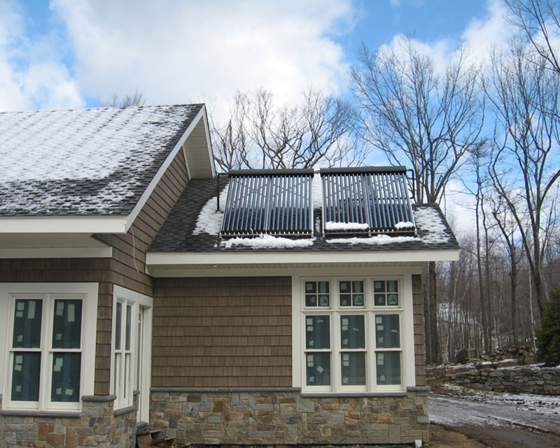 Solar Hot Water Installation